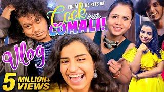 From The Sets Of Cook With Comali! - Fun Vlog Ft. Sivaangi